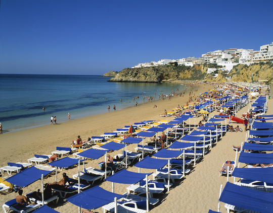 Cheap Holidays to the Algarve - Albufeira Beach
